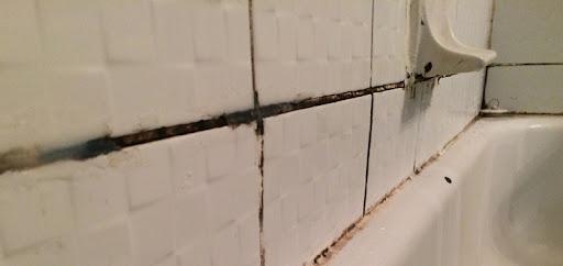 få bort mögel i badrum